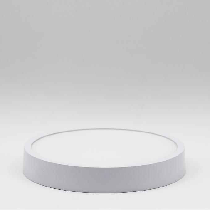 Durable LED Panel Light 4000k , White Panel Light 8 Inch Diameter