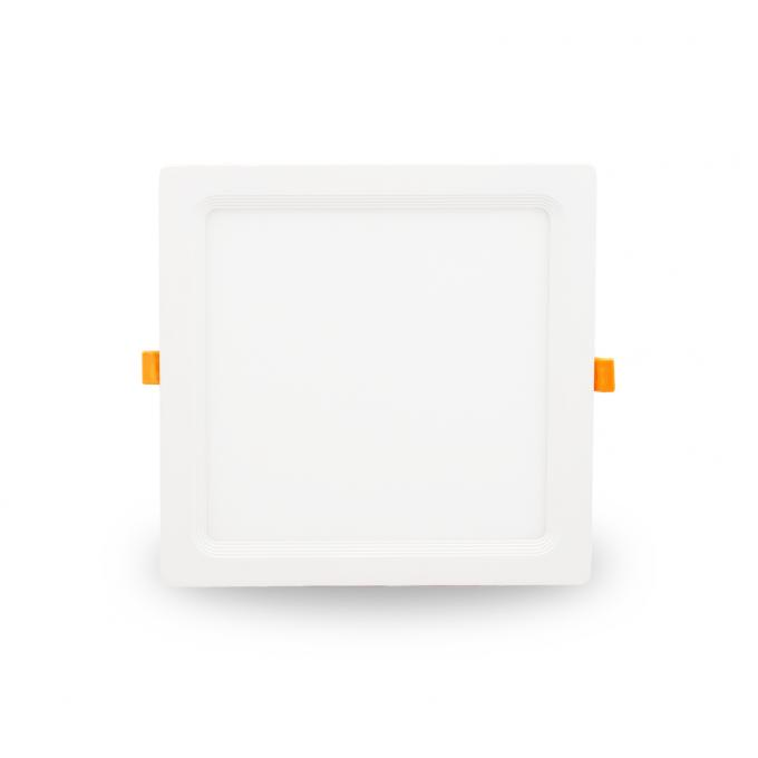 225*225mm LED Square Panel Light , White Color Recessed Panel Light