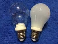 China E27 spiral Surface Mounted 6W φ60*110 Ceramic Light Bulb supplier