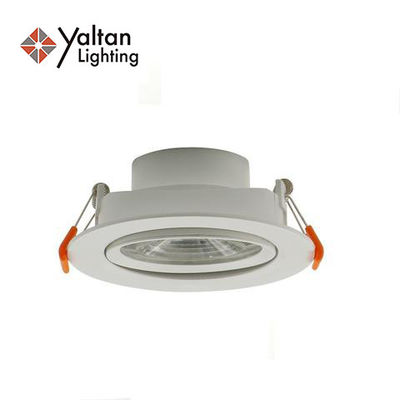 Plastic SMD LED 12W Ceiling Recessed Downlight